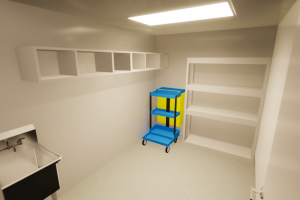 Patient Lavatory-Janitorial_Janitor Closet 5
