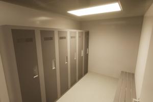 Staff Lavatory-Lockers_Locker Room 3