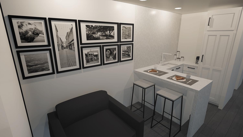 Crew Mod Living Area