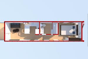LuxeMod Single Unit Overhead