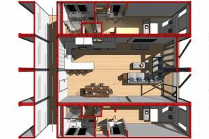 LuxeMod Suite Overhead