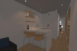 LuxeMod kitchenette